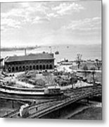 The Battery In Manhattan Metal Print