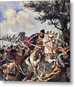 The Battle Of Bouvines, 1214 Metal Print