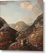 The Battle Of Glen Shiel 1719 Metal Print