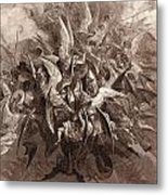 The Battle Of The Angels Metal Print