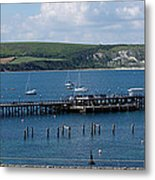 The Bay At Swanage Metal Print