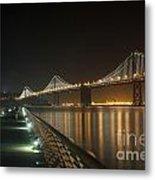 The Bay Bridge Metal Print