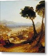 The Bay Of Baiae With Apollo And The Sibyl Metal Print