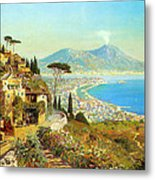 The Bay Of Naples Metal Print