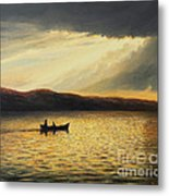 The Bay Of Silence Metal Print