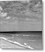 The Beach At Hobe Island Metal Print