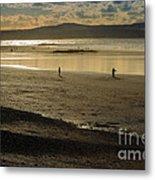 The Beach At Mounts Bay Metal Print
