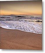The Beach Metal Print