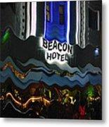 The Beacon Hotel Metal Print