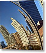 The Bean - 1 - Cloud Gate - Chicago Metal Print