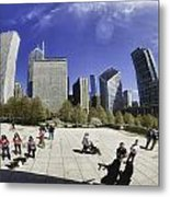 The Bean In Chicago-002 Metal Print