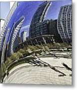 The Bean In Chicago-003 Metal Print