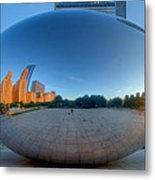 The Bean In Chicago Metal Print