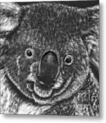 The Bear From Down Under Metal Print