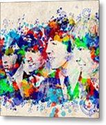 The Beatles 7 Metal Print
