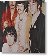 The Beatles In Color Metal Print