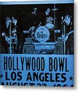 The Beatles Live At The Hollywood Bowl Metal Print