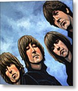 The Beatles Rubber Soul Metal Print