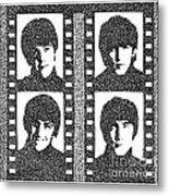 The Beatles Yeah Yeah Yeah Metal Print