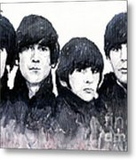 The Beatles Metal Print