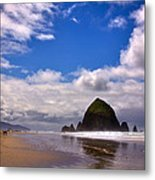 The Beautiful Cannon Beach Oregon Metal Print by David Patterson