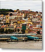 The Beautiful Colors Of Lisbon Metal Print