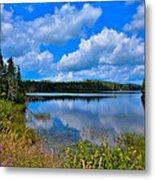 The Beautiful Lake Abanakee New York Metal Print