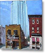 The Beauty N' The Background In London Canada Metal Print