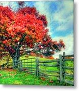 The Beauty Of Fall II - Blue Ridge Parkway Metal Print by Dan Carmichael