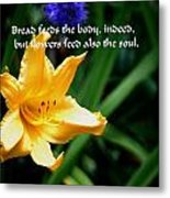 The Beauty Of Flowers Metal Print