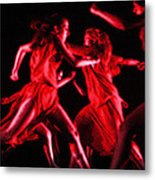 The Beauty Of Motion Metal Print