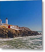 The Beauty Of Nubble Metal Print
