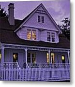 The Bed And Breakfast At Heceta Metal Print