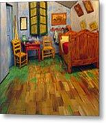 The Bedroom Of Van Gogh At Arles Metal Print