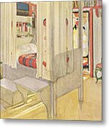 The Bedroom, Published In Lasst Licht Metal Print