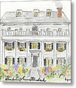 The Beekman Arms In Rhinebeck Metal Print