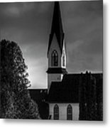 The Beginning And The End Metal Print