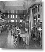 The Bell Telephone Exchange In Metal Print