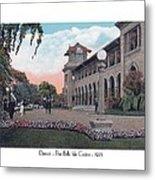 The Belle Isle Casino - Detroit - 1923 Metal Print