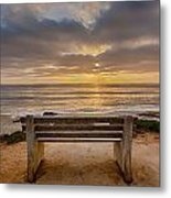 The Bench Iv Metal Print