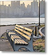 The Bench Metal Print by JC Findley