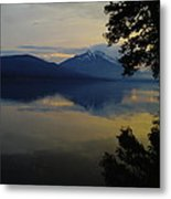 The Bend Before Paradise Metal Print
