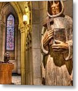 The Benedictine Order Metal Print