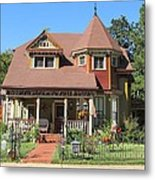The Benefield House Jefferson Texas Metal Print