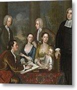 The Bermuda Group, Dean Berkeley And His Entourage, 1728 Metal Print