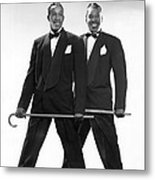 The Berry Brothers Dance Team Metal Print