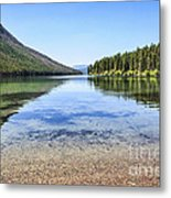 The Best Beach In Glacier National Park Metal Print by Scotts Scapes