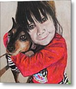 The Best Of Friends Metal Print