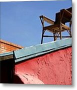 The Best Seat In The House Metal Print