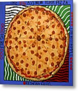 The Big Ass New York Pizza Metal Print by Anthony Falbo